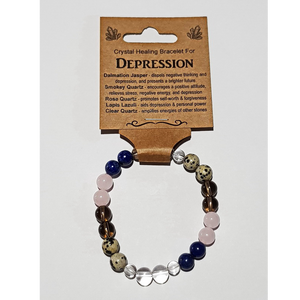 Crystal Healing Bracelet for DEPRESSION