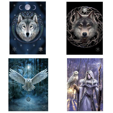 3D Postcard Pack 10 by Anne Stokes