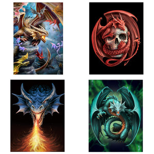 3D Postcard Pack 11 by Anne Stokes