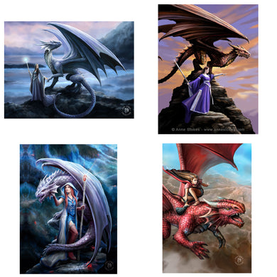3D Postcard Pack 13 by Anne Stokes