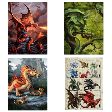 3D Postcard Pack 14 by Anne Stokes