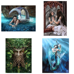 3D Postcard Pack 15 by Anne Stokes