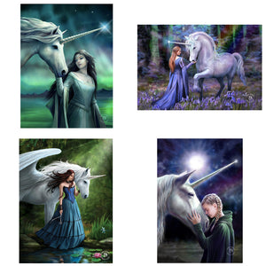 3D Postcard Pack 17 by Anne Stokes