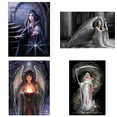 3D Postcard Pack 1 by Anne Stokes