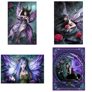 3D Postcard Pack 4 by Anne Stokes