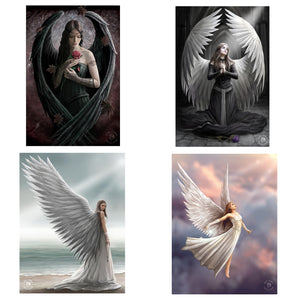 3D Postcard Pack 5 by Anne Stokes