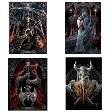 3D Postcard Pack 6 by Anne Stokes
