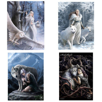 3D Postcard Pack 9 by Anne Stokes