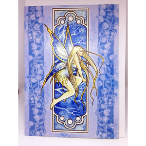 Nouveau Fairy - Winter Card by Selina Fenech