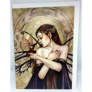 Winged Things Card by Selina Fenech