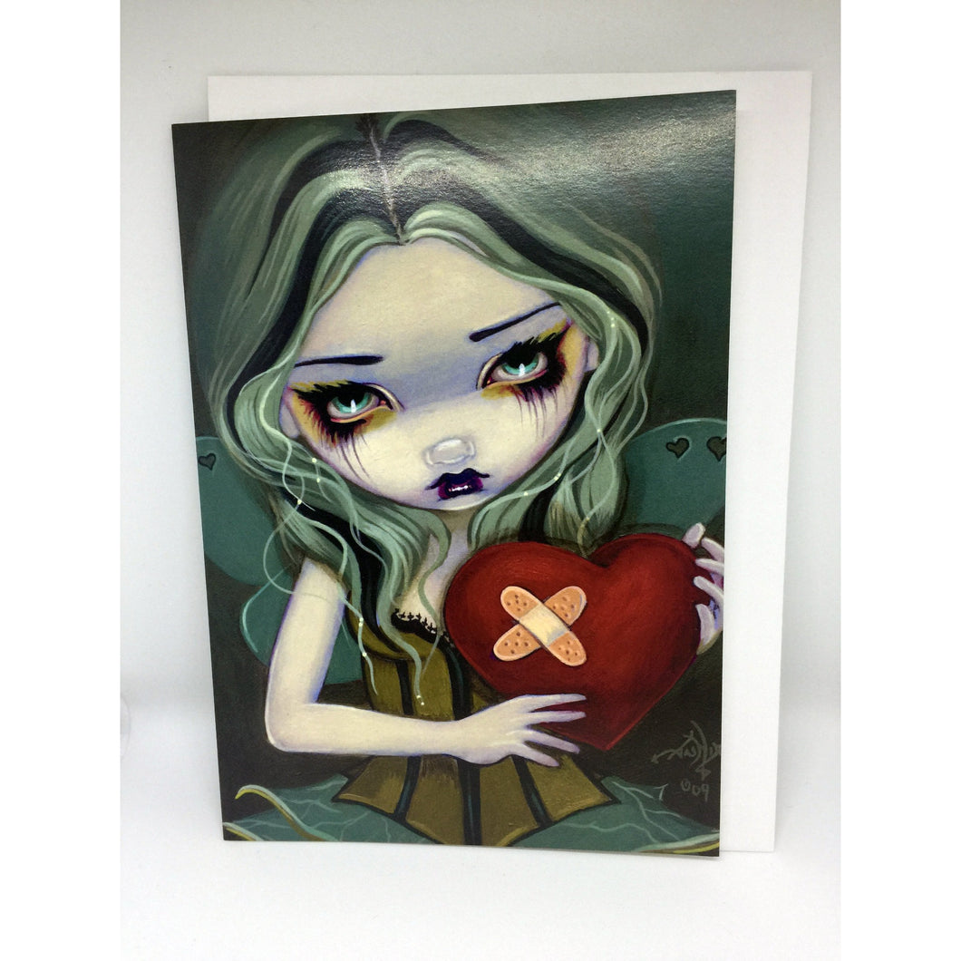 Mending a Broken Heart Card by Jasmine Becket-Griffith