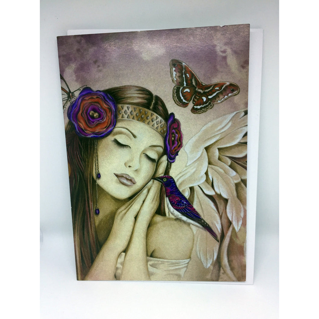 Angel Song Gift Card by Jessica Galbreth