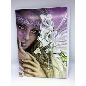 Angel Eyes Gift Card by Jessica Galbreth