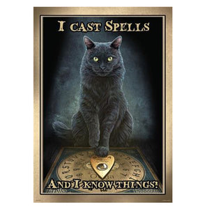 I Cast Spells Poster by Lisa Parker