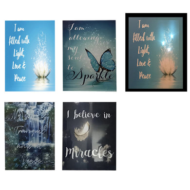 Inspirational LED Canvas