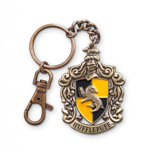 HARRY POTTER Hufflepuff Crest Keychain - PRE-ORDER