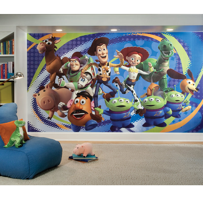 Disney Kids Toy Story Prepasted XL Sized Wallpaper Mural