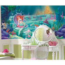 Disney Kids Littlest Mermaid Prepasted XL Sized Wallpaper Mural