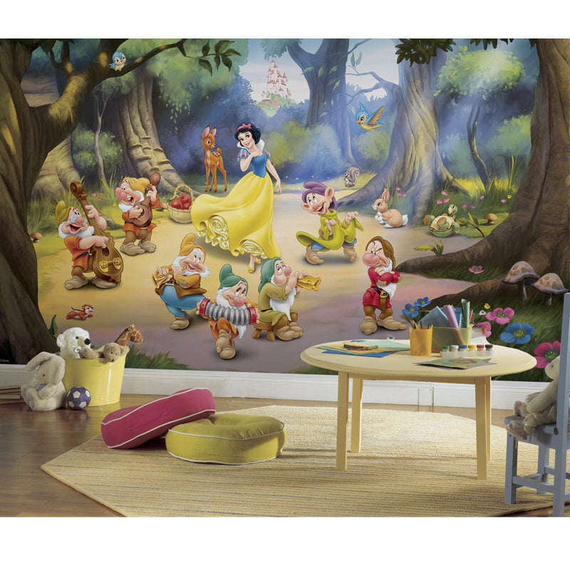 Snow White and the Seven Dwarfs Pre-Pasted XL Wallpaper Mural