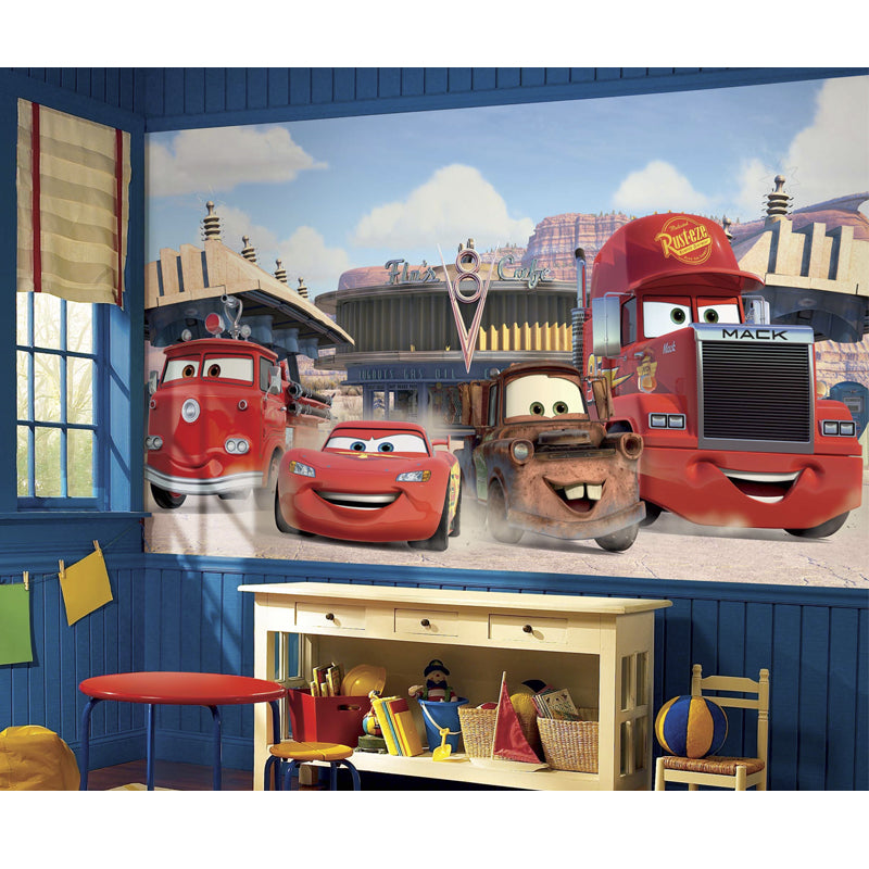 Disney Cars Friends to the Finish XL Sized Wallpaper Mural