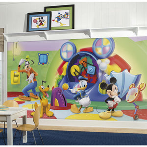 Mickey & Friends Clubhouse Capers XL Sized Wallpaper Mural