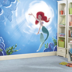 Disney The Little Mermaid Part of your World Prepasted XL Sized Ultra-strippable Wallpaper Mural