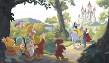 Disney Princess Snow White Happily Ever After Prepasted XL Sized Ultra-strippable Wallpaper Mural
