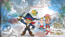 Captain Jake & the Never Land Pirates Prepasted XL Sized Ultra-strippable Wallpaper Mural