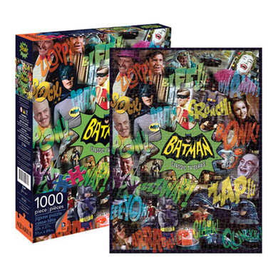 DC Comics – Batman TV Collage 1000pc Puzzle