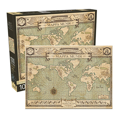 Fantastic Beasts Map 1000pc Puzzle