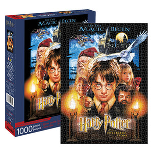 Harry Potter & The Sorcerer's Stone 1000pc Puzzle