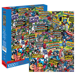 Marvel – Captain America Collage 1000pc Puzzle