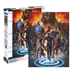 Avengers Endgame Collage 1000pc Puzzle
