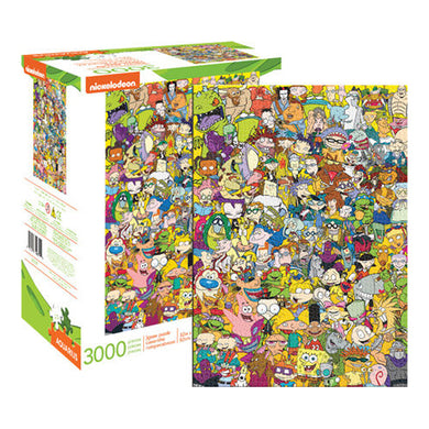 Nickelodeon 90′s Collage 3000pc Puzzle