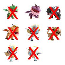 How To Train Your Dragons Action Vinyls