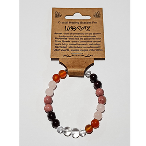 Crystal Healing Bracelet for LOVE