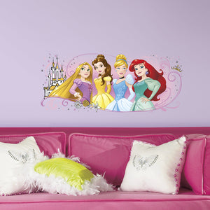 Disney Princess Friendship Adventures Giant Wall Graphic