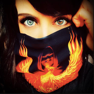 Phoenix Rising Snood by Anne Stokes