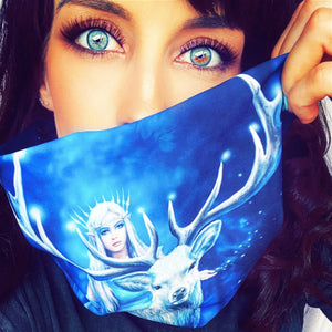 Fantasy Forest Snood by Anne Stokes