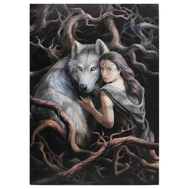 Soul Bond XLarge Canvas by Anne Stokes