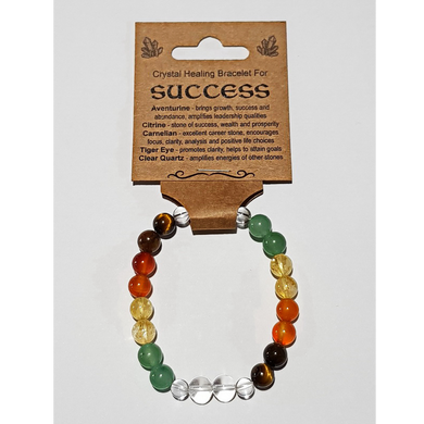 Crystal Healing Bracelet for SUCCESS
