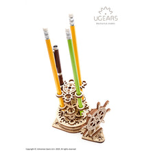 Ugears Wheel Organiser Pen Holder