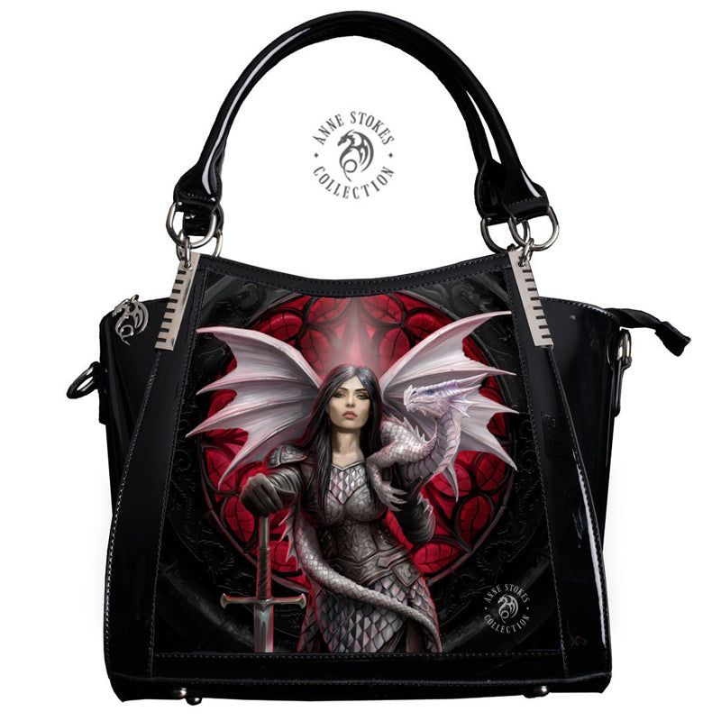 Valour 3D Lenticular Handbag by Anne Stokes