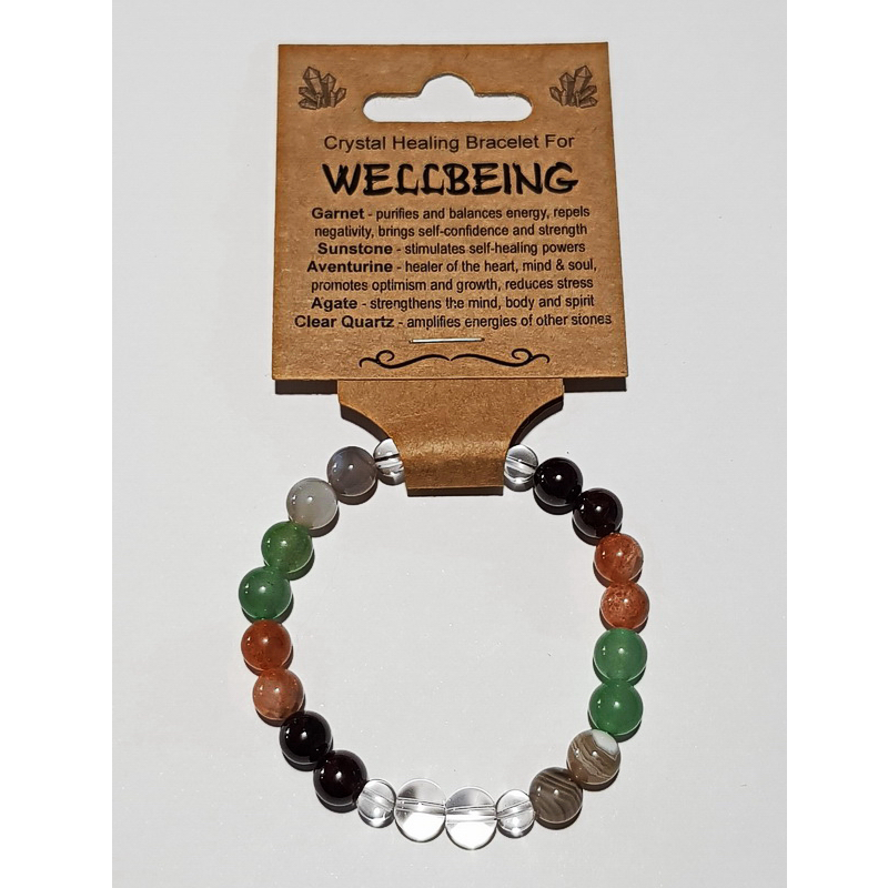 Crystal Healing Bracelet for WELLBEING