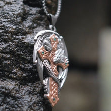 Woodland Guardian Pendant Artefact by Anne Stokes