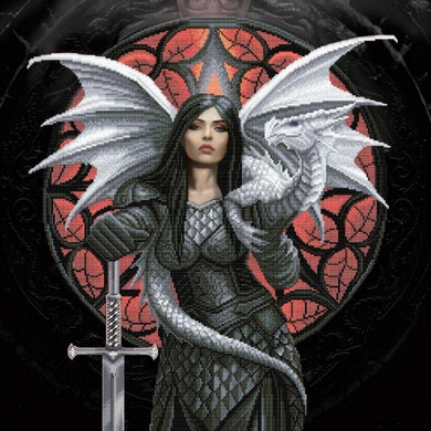 Valour Crystal Art Kit by Anne Stokes