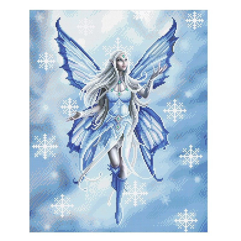 Snow Fairy Crystal Art Kit by Anne Stokes