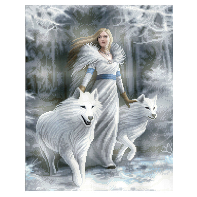 Winter Guardians Crystal Art Kit by Anne Stokes