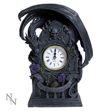 Dragon Beauty Clock by Anne Stokes