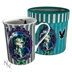 Perched & Sat & Nothing More Mug by Jasmine Becket-Griffith